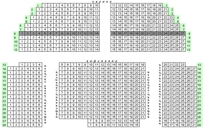 Билеты в театрально-концертный